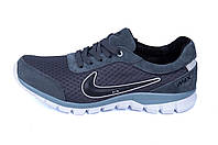 Мужские летние кроссовки сетка  Ans grey Nike