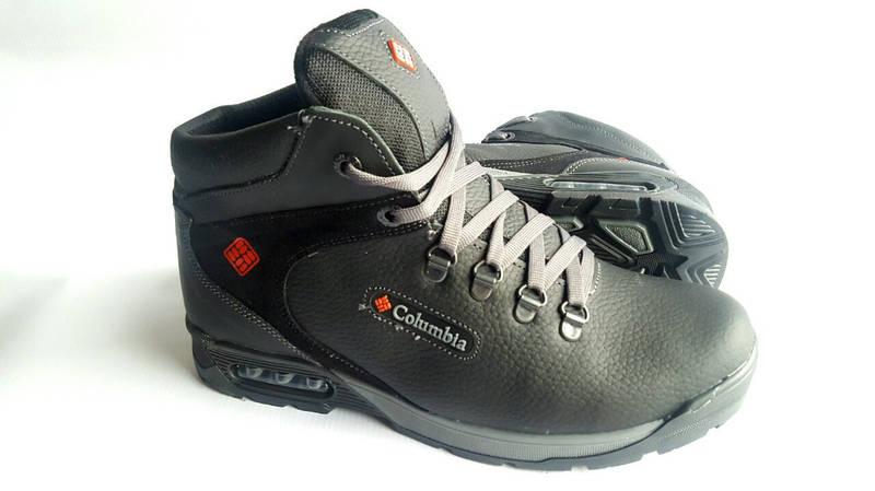 Мужские кожаные зимние ботинки Yavgor Legend black 44