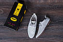 Мужские кожаные летние туфли, перфорация, KungFu grey, фото 7