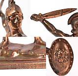 Коллекционная скульптура Leonidas, олово, бронзирован, фото 7