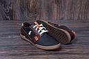 Мужские кожаные летние кроссовки, перфорация Polo black, фото 9