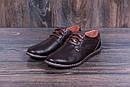 Мужские кожаные летние туфли  Levis Strauss Chocolate Area перфорация, фото 6