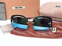 Солнцезащитные очки Miu Miu (58) blue