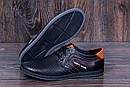 Мужские кожаные летние кроссовки, перфорация , фото 8