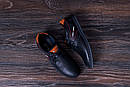 Мужские кожаные летние кроссовки, перфорация , фото 10