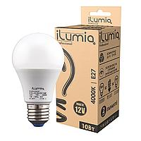 Светодиодная лампа Ilumia низковольтная 10Вт, 12В, Цоколь Е27, 4000К (нейтральный белый), 1000Лм (010)