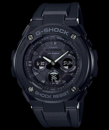 Часы Casio G-Shock G-Steel GST-S300G-1A1 TOUGH SOLAR
