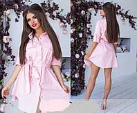 Платье женское из летнего коттона  аф147, фото 1