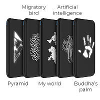 PowerBank с беспроводной зарядкой HOCO J10 Glowing QI Wireless Charger buddha's Palm 10000 mAh