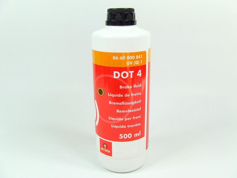 Жидкость тормозная DOT4, 500ML (8660000841) Motrio