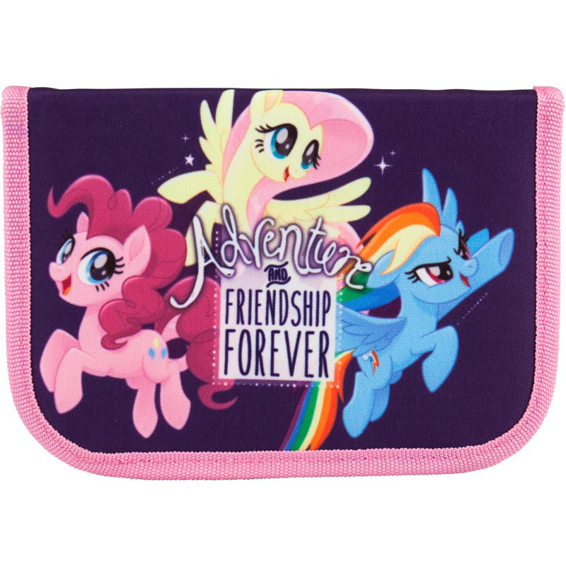 Пенал My Little Pony 1отд.,1 отв. LP18-621-1