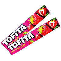 Жевательная конфета Tofita тофита клубника 47 гр. Kent