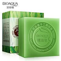 Натуральное мыло с экстрактом алоэ BIOAQUA Aloe Natural Oil Soap, фото 1