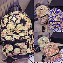 Сказочные рюкзаки с цветами и часами!, фото 2