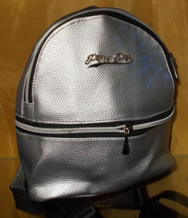 eef510b352ea Рюкзак женский серебро 24*21*9 см, цена 300 грн., купить в Николаеве ...