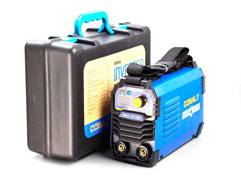 Сварочный аппарат Искра Профи Cobalt MMA 311DK (дисплей+кейс)