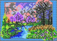 Схема для вышивки бисером - «Весна»