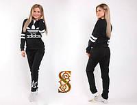 Женский Спортивный костюм надпись Adidas