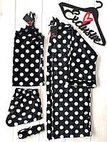 Одежда для дома,комплект халат и майка с шортами