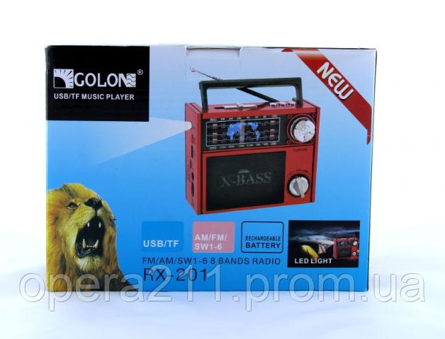Радиоприемник GOLON RX-201 (30)