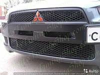 Ноздри EVO Style в бампер Lancer X