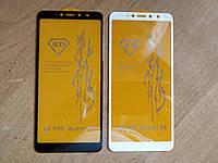 Защитное стекло 6D полный клей для Xiaomi Redmi S2