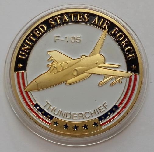United States Air Force. Самолет F-105 THUNDERCHIEF