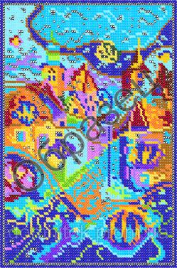 Вышивка бисером абстракции