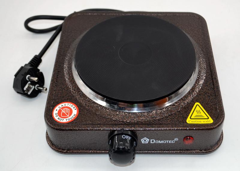 Электроплита Domotec MS 5821 B дисковая FX