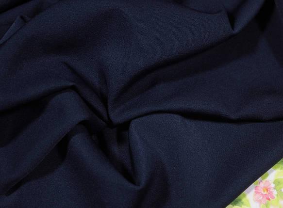 Ткань мадонна темно-синяя, фото 2