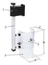 PTR-B Защитный экран для сверлильного станка 1/230 В