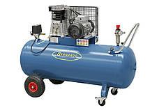 Мобильный масляный компрессор 200 л, 3.0 кВт, 10 атм, 500 л/мин AC25 Bernardo   Компрессор 400 В