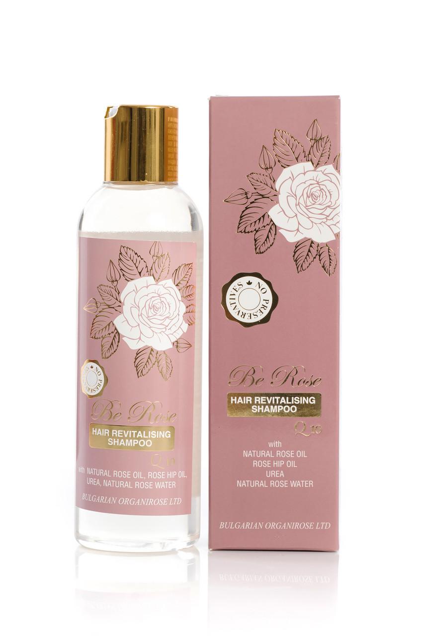 Відновлює шампунь для волосся Be Rose від Bulgarian OrganiRose 200 мл