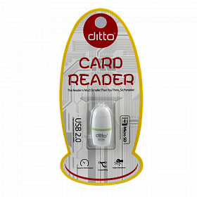 Ditto DO-OT04  USB 2.0 Micro SD/TF Card Reader кардридер