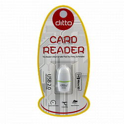 Ditto DO-OT04  USB 2.0 Micro SD/TF Card Reader кардридер