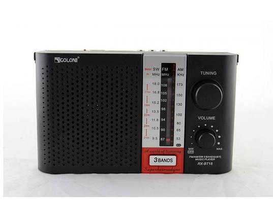 Портативный радиоприемник Golon RX BT18 переносная колонка bluetooth / USB /SD / MP3/ FM, фото 2