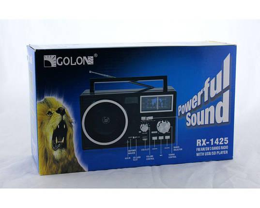 Радиоприемник-плеер MP3/WMA Golon Радио RX 1425 переносной, фото 2