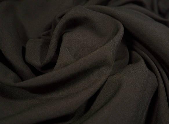 Ткань мадонна темно-коричневая шоколад, фото 2
