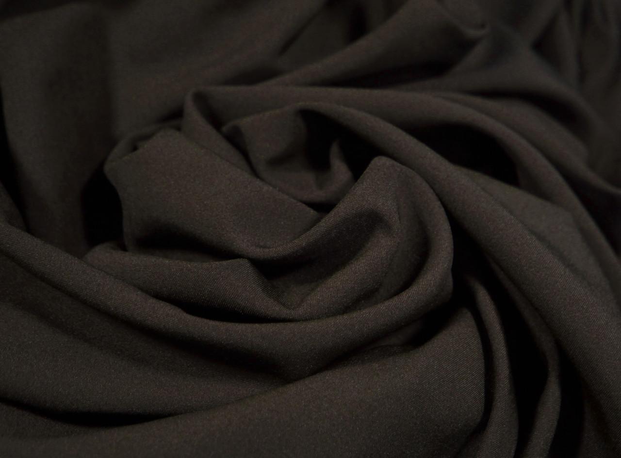 Ткань мадонна темно-коричневая шоколад