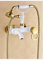 Смеситель для ванны белый 2-052, фото 1