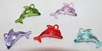 Пластиковое украшение Дельфин 1507, фото 1