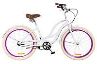 "Велосипед Dorozhnik Cruise PH 26"" белый"