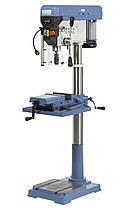 BM 32SB Профессиональный сверлильный станок на колонне 1,6 кВт Bernardo | реверс, лазер, индикация, фото 3