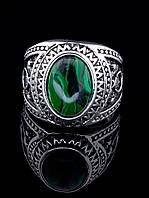 Кольцо Малахит