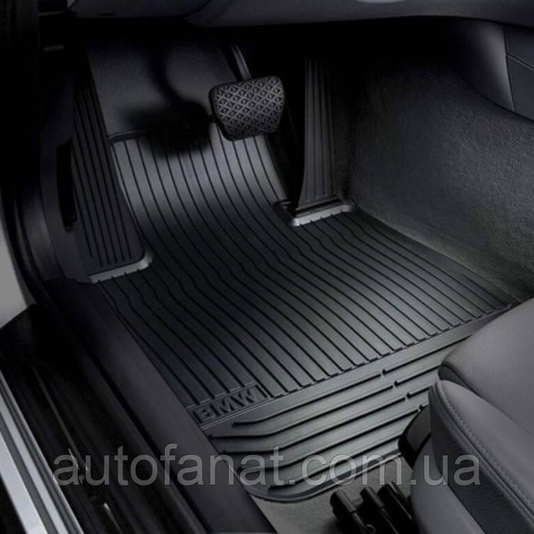 Коврики оригинальные для BMW 5 (F10, F11)  резиновые черные