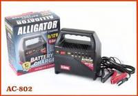 Автомобильное зарядное устройство для аккумулятора АКБ Alligator  AC802