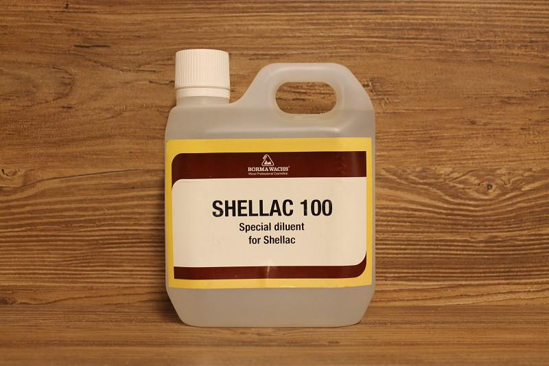 Растворитель для шеллака, Shellac 100, Borma Wachs, Can d'Oro Line, 1 литр