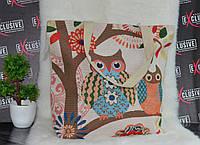 Пляжная сумка с канатными ручками Две Совушки., фото 1
