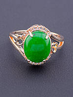 Кольцо 'Pataya' Хризопраз (позолота 18к)