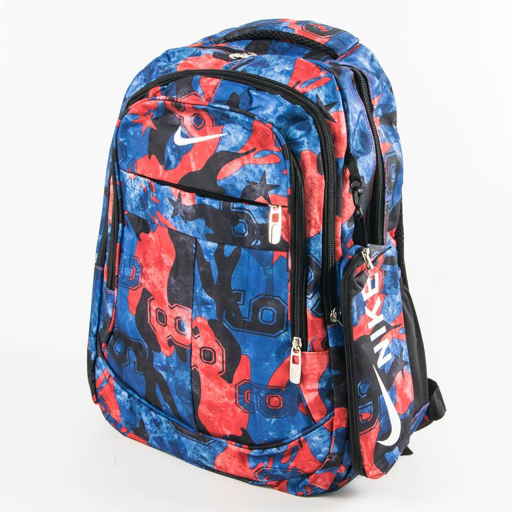 Спортивный рюкзак Nike синий с красным - 926